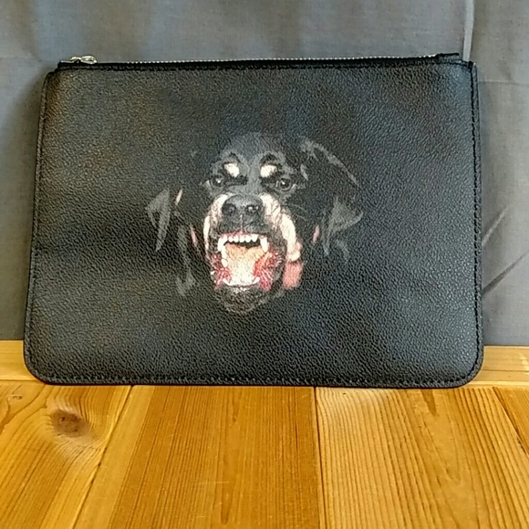 Givenchy Other - Givenchy Rottweiler Envelope Clutch/Pouch Bag